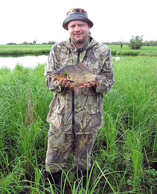 рыбалка когда клюет линь