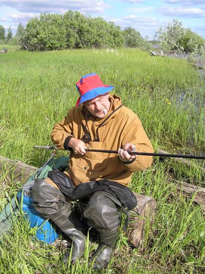 сибирский рыболов