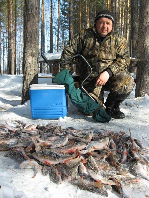 рыбалка и грибы в сибири