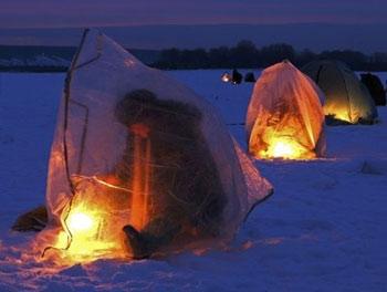 Зимнее укрытие для рыбалки