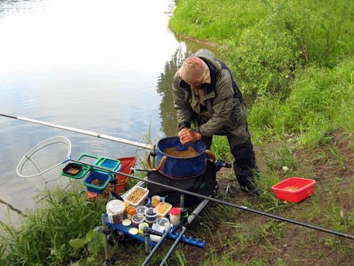 из чего состоит прикормка для рыбы fishhungry